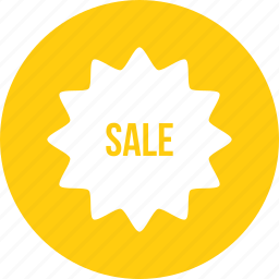 coupon, offer, sale, sticker icon