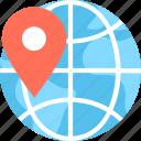 location, location marker, location pointer, map pin, navigation