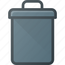 bin, can, garbidge, office, recycle, trash