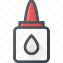 glue, liquid, office, stick, tube icon