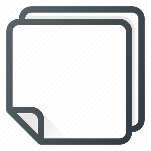 note, notebook, office, paper, piece icon