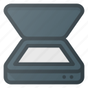 coppy, office, photo, scann, scanner icon