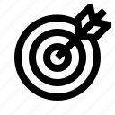 arrow, bullseye, dartboard, goal, office, target