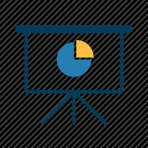 board, chart, diagram, office icon