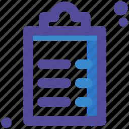 list, table, task icon