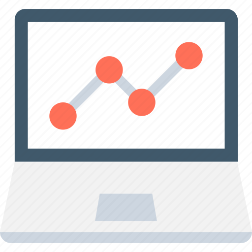 graph, graph screen, led, online graph, statistics icon