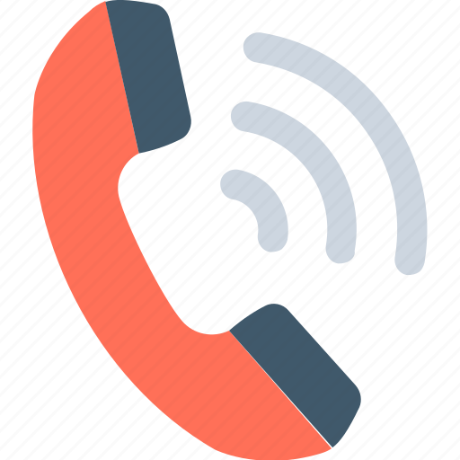 call, call ringing, phone receiver, receiver, telecommunication icon