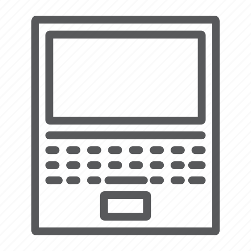 Office, business, laptop, work, notebook, computer icon