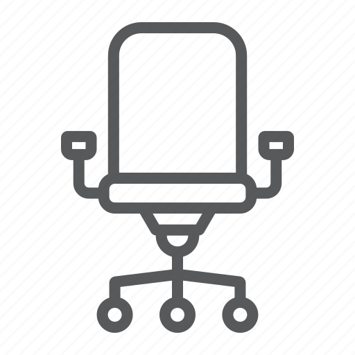 armchair, business, chair, furniture, office, seat, work icon
