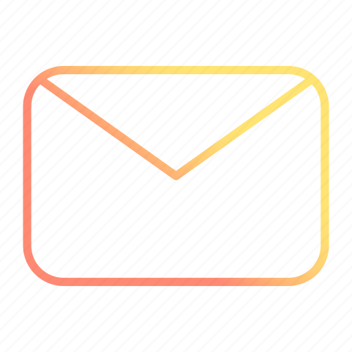 email, envelope, message, office icon