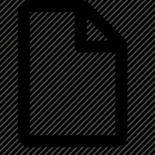 Document, paper, portrait, sheet icon - Download on Iconfinder