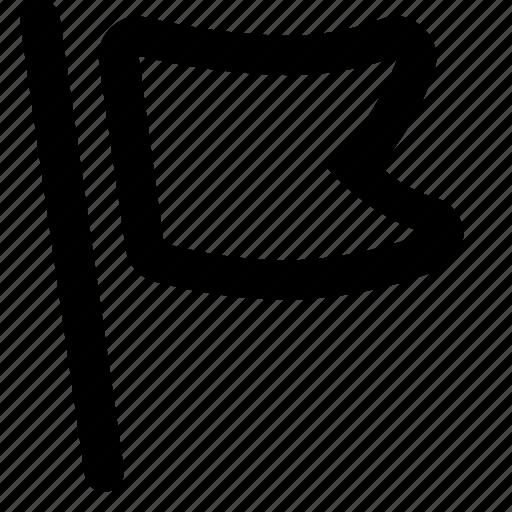 Flag, marker, notification icon - Download on Iconfinder