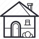 apartment, architecture, home, house, villa icon
