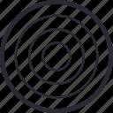 aim, focus, game, goal, target icon
