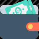 billfold wallet, cash wallet, money wallet, purse, wallet