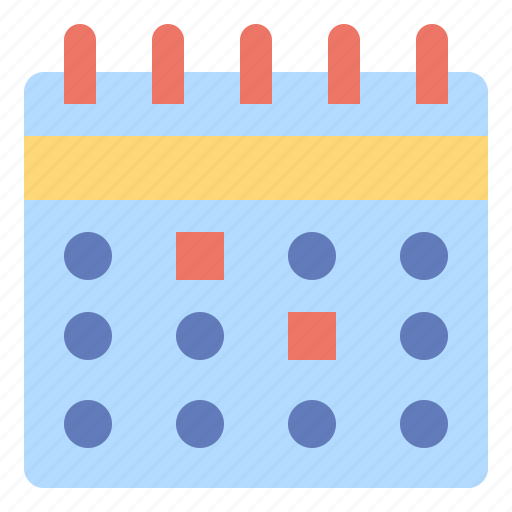 and, calendar, clock, date, dates, interface, time icon