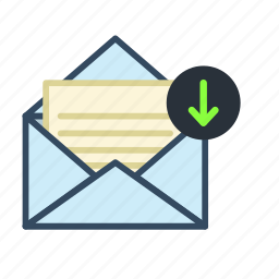 archive, email, mail icon