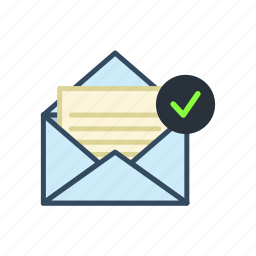 email, mail, read icon
