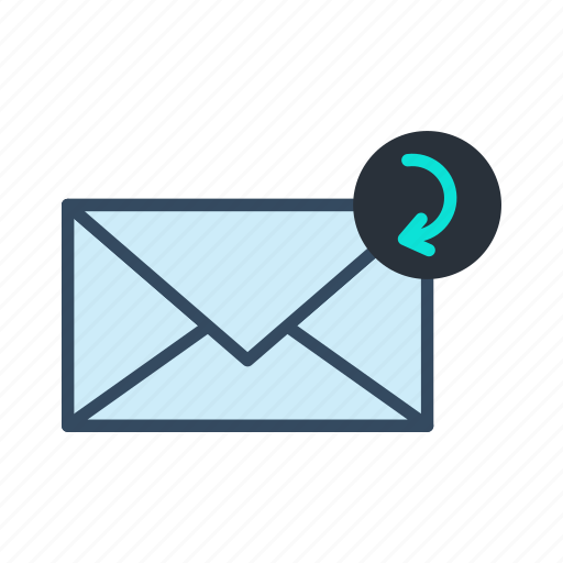 email, mail, reply icon