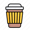 coffe, cup, drink, hot, juice, take a way, tea icon