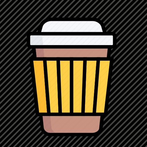 coffe, cup, drink, hot, juice, take a way, tea icon