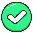approve, approved, check, ok, success, tick, yes icon