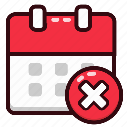 calendar, date, day, delete, event, schedule icon