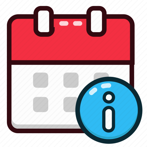 calendar, date, day, event, info, information, schedule icon
