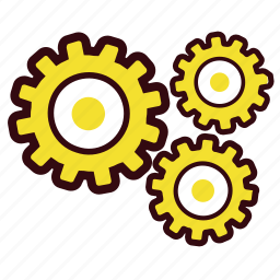 gear, gears, options, preferences, setting, settings, tools icon