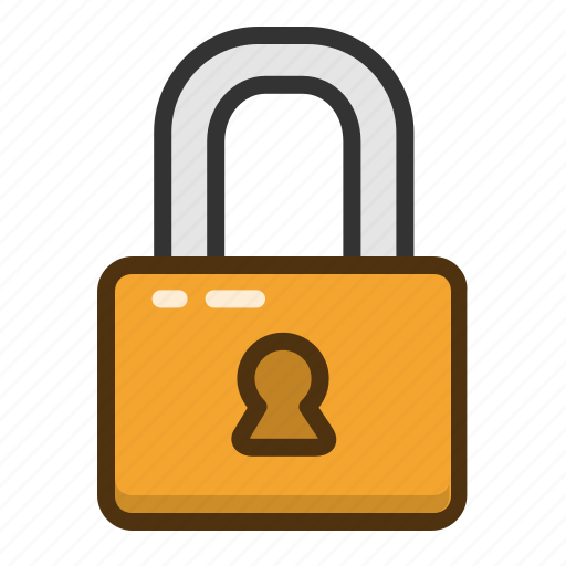 lock, locked, password, private, protect, protection, security icon