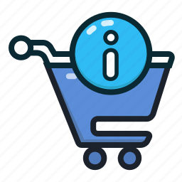 buy, cart, info, shopping, shoppingcart icon