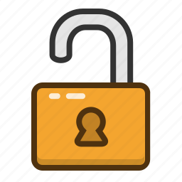 lock, privacy, protect, protection, security, unlock icon