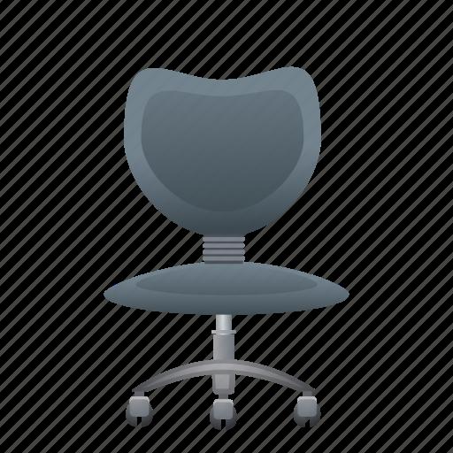 chair, furniture, interior, office, work icon