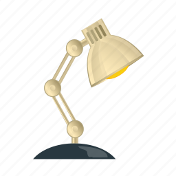 bulb, desk, electric, lamp, light icon