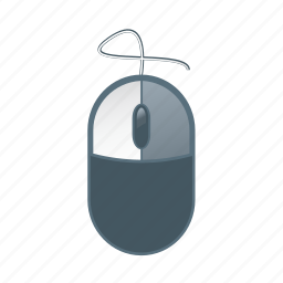 computer, device, mouse, pc, technology icon