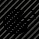 data, diagram, round diagram icon