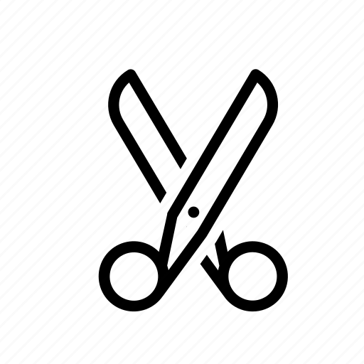 craft, cut, office, paper, scissors icon
