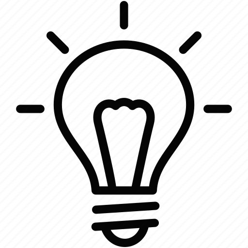 bright, bulb, electricity, idea, lightbulb icon