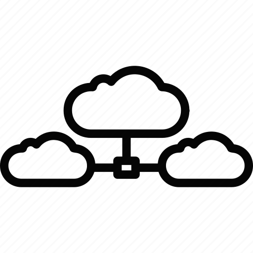 cloud, computing, hosting, server icon