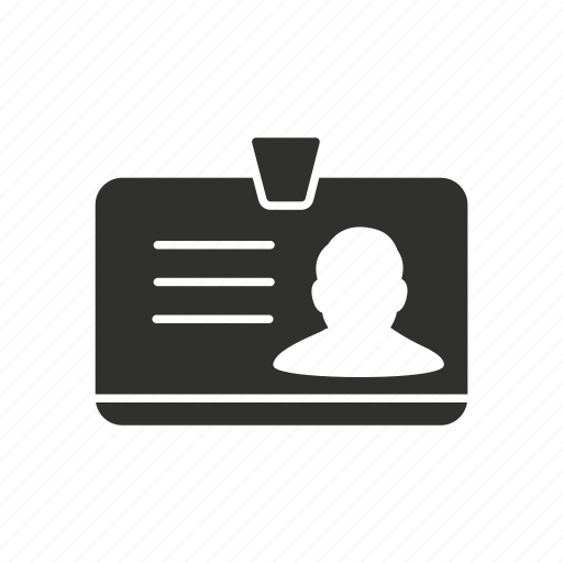 card, id, identification card, identity icon