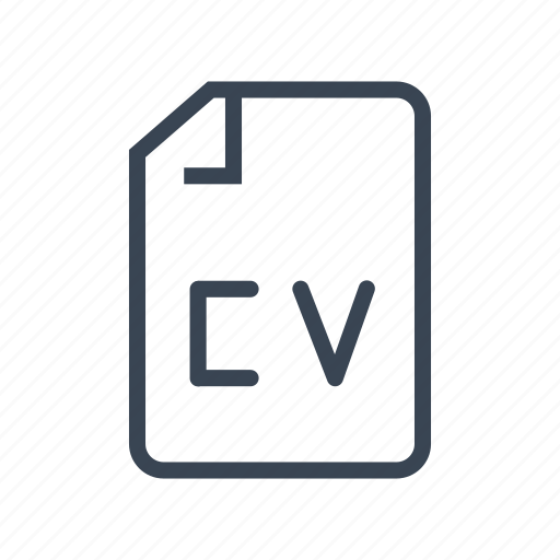 business  cv  office  resume icon