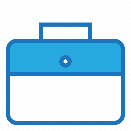 blue, business, office icon