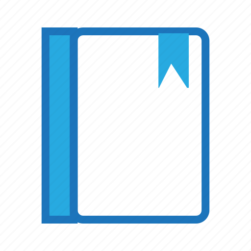 blue, business, document, office icon
