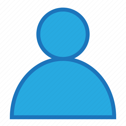 blue, business, money, office, profile icon