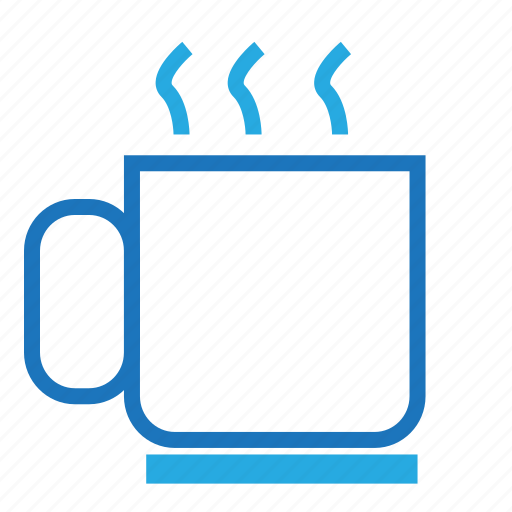 blue, caffe, documents, office, paper icon