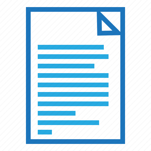 blue, business, document, internet, marketing, office icon