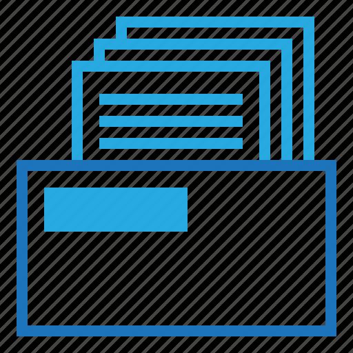 blue, business, dollar, money, office icon