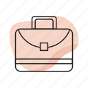 bag, briefcase, business, businessman icon