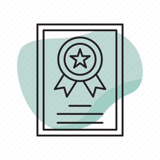 Badge, business, certified, exam, test, trust icon - Download on Iconfinder