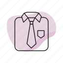 business, businessman, suit, tie icon
